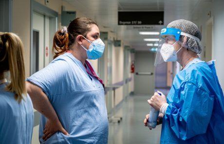 Minuli teden 2000 več potrjenih okužb in 100 več hospitaliziranih kot v tednu prej