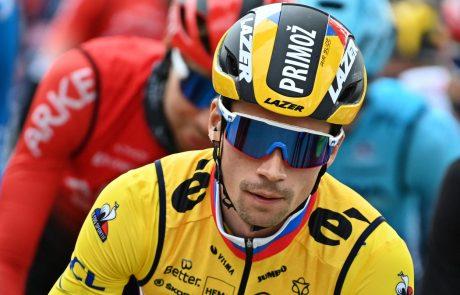 Primož Roglič končal nastope na dirki po Franciji