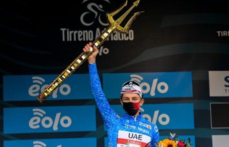 Tadej Pogačar je novi zmagovalec prestižne dirke