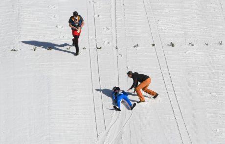 Olajšanje v UKC Ljubljana, kjer se je ponesrečeni smučarski skakalec Tande zbudil iz umetne kome