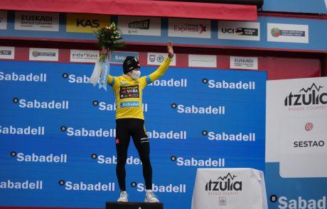 Roglič z izjemno predstavo do zmage po Baskiji