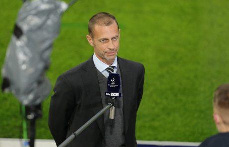 Angleški in španski klubi se požvižgajo na Čeferina, nogometna superliga bo