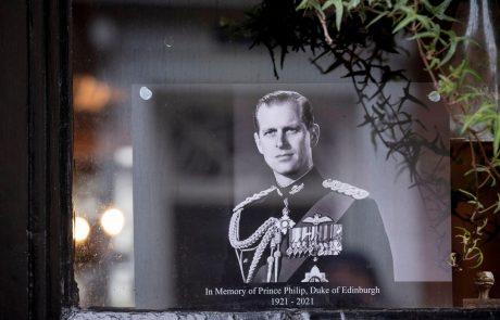 Pogreb princa Philipa bo prihodnjo soboto