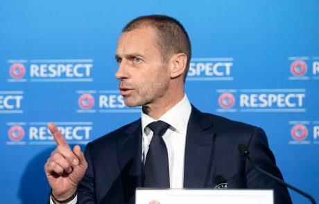 Uefa predstavila nov format lige prvakov: Od leta 2024 bo v tekmovanju 36 klubov