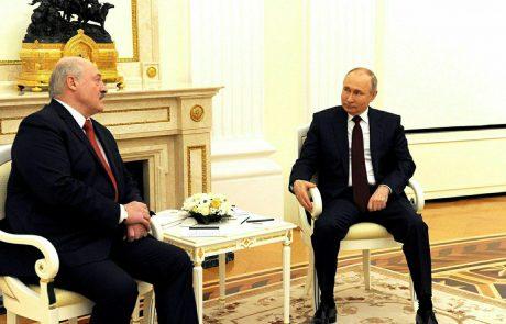 Putin in Lukašenko danes na pogovorih v Sočiju