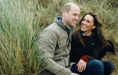 Kate in William sta objavila video, oboževalci ostali brez besed