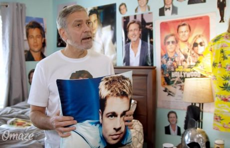 Video dneva: Si predstavljate, da je vaš cimer George Clooney? Stvar pa očitno ni tako sanjska, saj je menda obseden z Bradom Pittom …