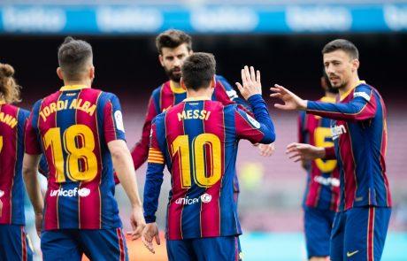 Barcelona naj bi dobila pol milijarde evrov posojila