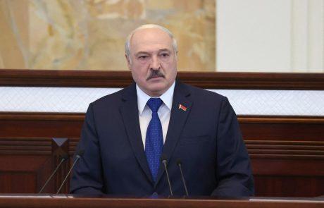 Lukašenko ne razume mednarodnega ogorčenja zaradi beloruske ugrabitve civilnega letala
