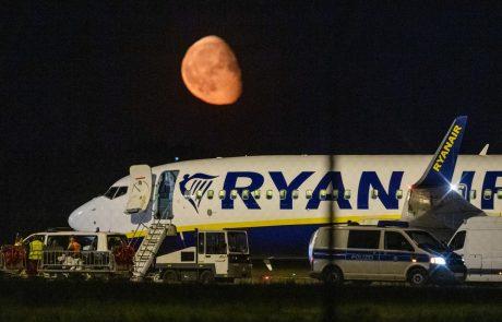 Ryanair spet v težavah: Letalo prisilno pristalo v Berlinu