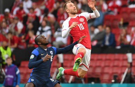 Odlično okreva: Danski nogometaš Christian Eriksen, ki se je med tekmo na Evropskem prvenstvu zgrudil pred očmi celega sveta, že stresa šale in se smeji