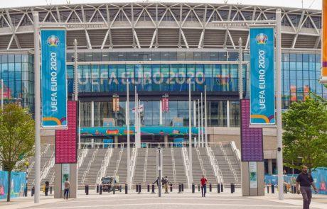 Finale eura si bo na stadionu Wembley lahko ogledalo 40.000 ljudi