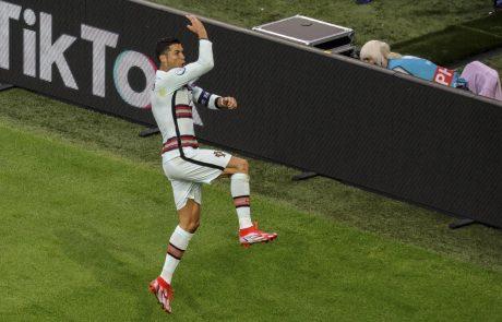 Euro 2020: Portugalci se imajo za včerajšnjo zmago nad Madžari zahvaliti Ronaldovi mami