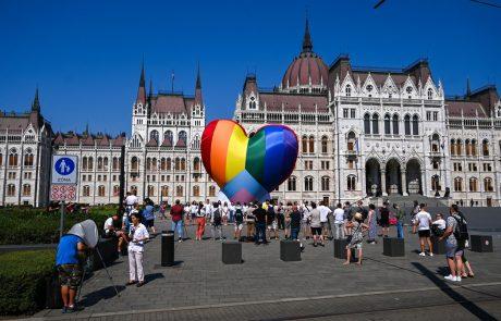 V Budimpešti se bo danes kot protest proti anti-LGBTIQ zakonu odvila parada ponosa