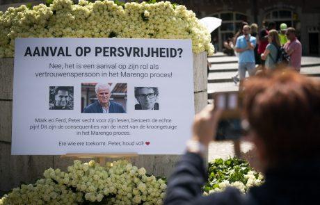 Umrl ustreljeni novinar Peter R. de Vries
