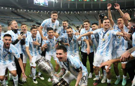 Messi na južnoameriškem prvenstvu končno prišel do prvega naslova z Argentino
