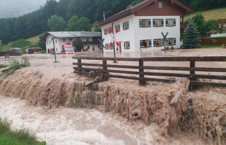 Poplave prizadele tudi Avstrijo in Bavarsko, kjer so razglasili izredne razmere