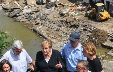 Na zahodu Nemčije odpravljajo posledice poplav, jug Nemčije in deli Avstrije pod vodo