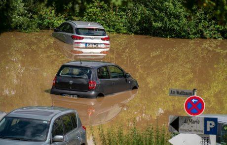 Podnebne spremembe bodo samo še okrepile deževje in poplave po Evropi