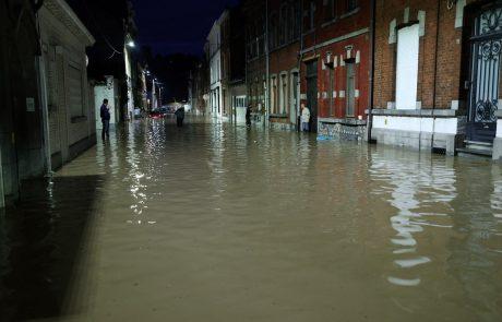 Belgijo prizadele nove poplave