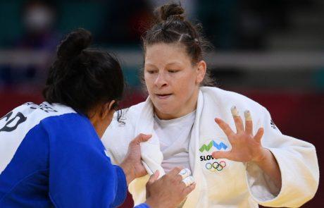 Judoistka Tina Trstenjak osvojila srebrno medaljo