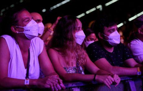 Na javnih kulturnih prireditvah ponovno obvezne zaščitne maske