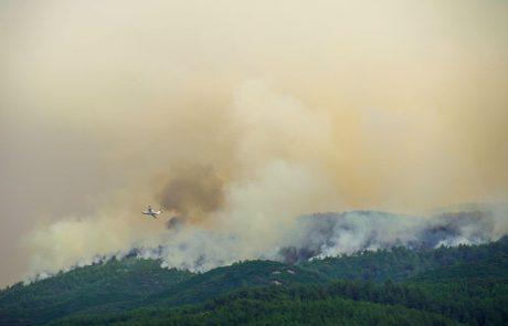 Na jugu Turčije je strmoglavilo gasilsko letalo, ki je prišlo na pomoč iz Rusije