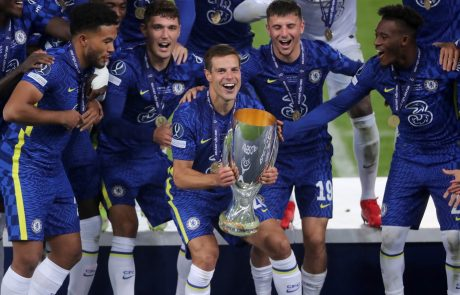 Chelsea je zmagovalec evropskega nogometnega superpokala