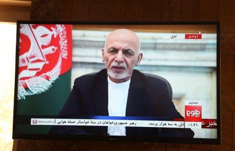 Afganistanski predsednik Gani je zapustil državo