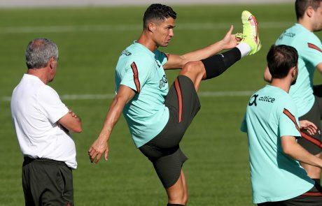 Ronaldo bi igral v portugalski reprezentanci