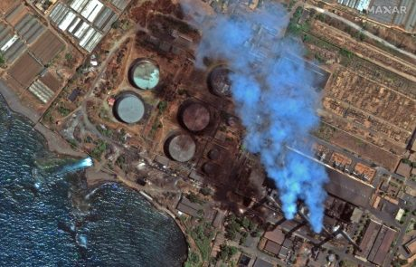 Proti Cipru se z območja Sirije širi naftni madež (