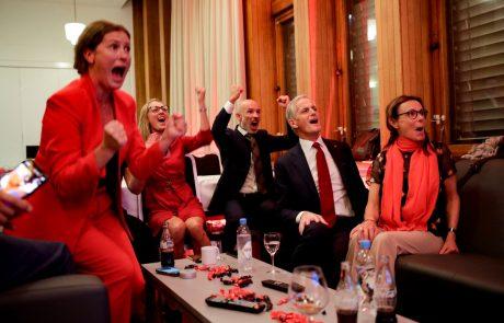 Na Norveškem socialisti premagali konservativce