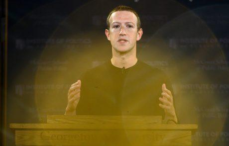 Facebook namerava v EU zaposliti 10.000 ljudi, ki bodo zadolženi za brisanje meja resničnosti