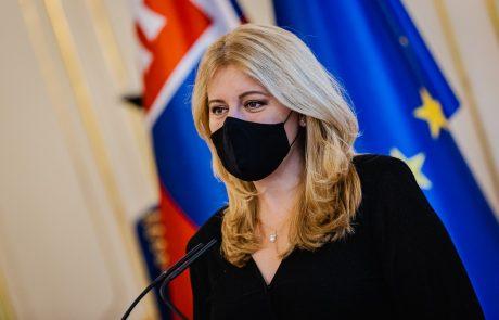 Slovaška predsednica na uradnem obisku v Sloveniji