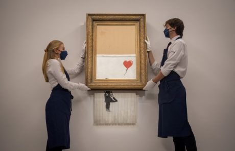 Samouničena umetnina prodana za vrtoglavih 18,5 milijona funtov