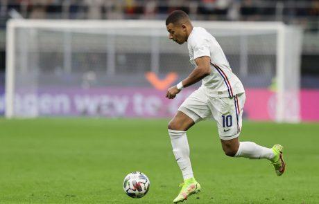 Uefa želi po Mbappejevem zadetku spremeniti pravilo