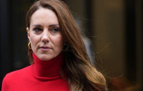 Zvezdniški stajling tedna: Kate Middleton v rdečem!