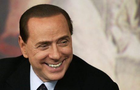 Berlusconi zaradi preobilice stresa prekinja volilni boj