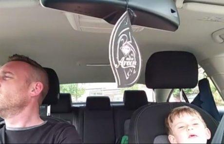 Video dneva: Kako lepo je videti, ko sta oče in sin tako povezana