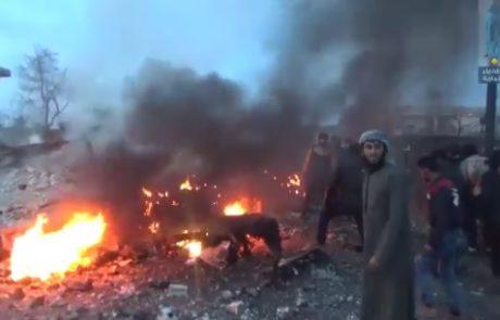 V Siriji sestrelili rusko vojaško letalo