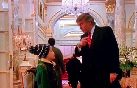 Kanadska nacionalka iz filma Sam doma 2 izrezala prizor s Trumpom