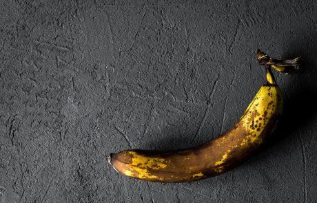 Pogledajte šta se desi, ako jedete pocrnele banane.